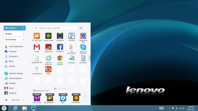 Lenovo Desktop Pokki