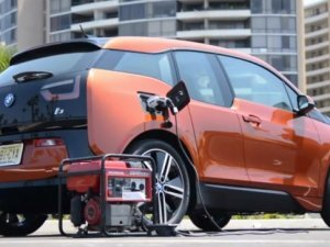 BMW i3 Charged by Honda