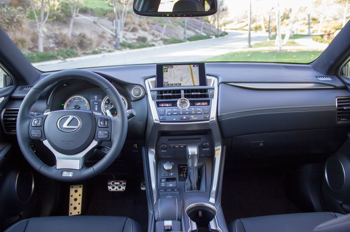 2015 Lexus Nx 200t F Sport Reviewed A Potent Newcomer