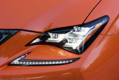Lexus-RCF-led-headlight