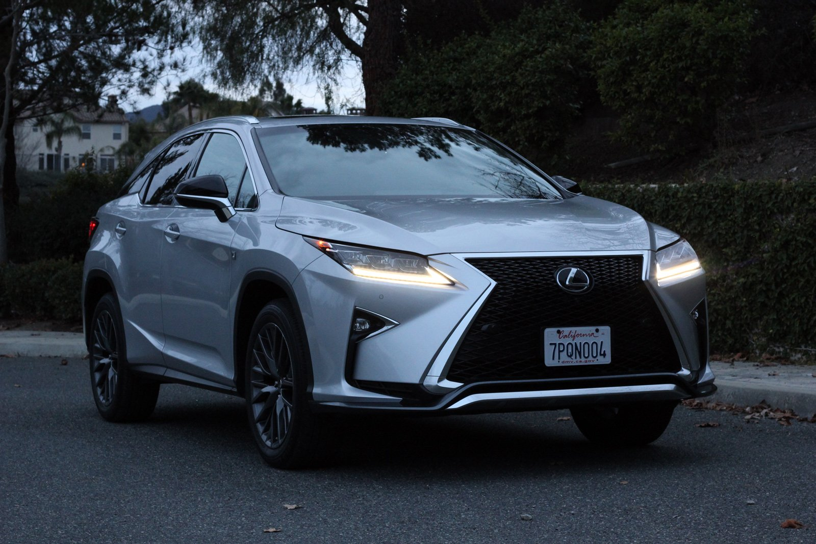 lexus bloomberg ur f review articles rx the news overworked sport crossover